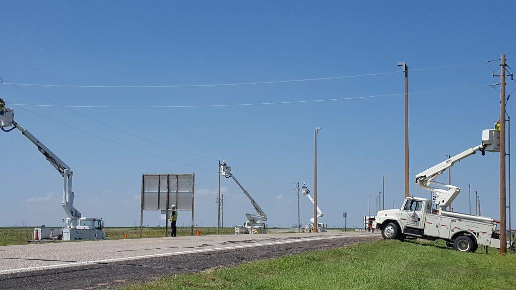 Duke Electric Power Poles